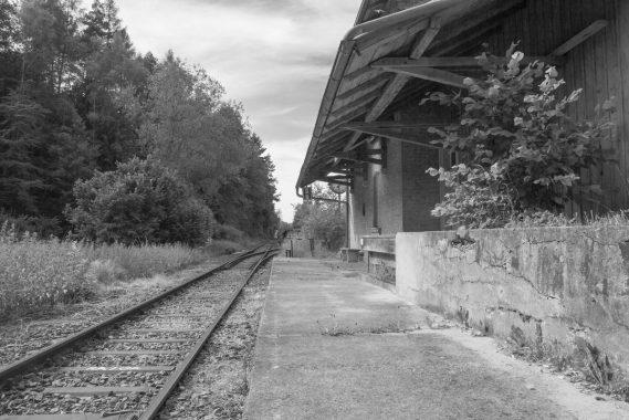 Pfettrach Bahnhof